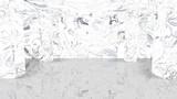 【商用可能】大理石ステージ