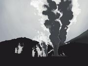 霧島硫黄山 4月21日朝