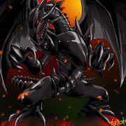 真紅眼の黒竜