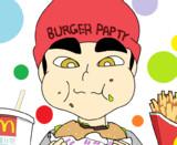 『ハンバーガーを食べる大学生小学生Vtuber』
