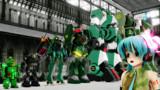 緑のロボット【MMD】