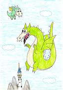 【CUPHEAD】グリムとちびドラゴン【ドラゴンの日】