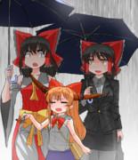 傘持ってくのを忘れたsnnn