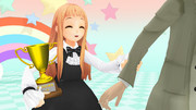 【MMD】『バカ!バカ!ニイニ!』のレア様、2525再生おめでとう!