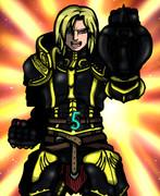 「♪カヤキス・レビタ 黒い甲冑 黒い悪魔 ローザリアの王子 カール・アウグスト・ナイットハルト」