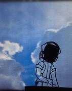 【切り絵】【京町セイカ】トリコロール・エア・ライン【歌うボイスロイド】