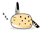 真横寝みんみ