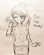 まきはらちゃん誕生日おめでとう!