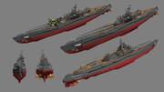 伊四百型潜水艦 その2