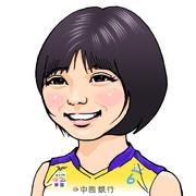 渡邊真恵選手(岡山シーガルズ)