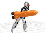 【MMD仮面ライダー】ロケットモジュール