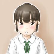 フリーアイコン(30分ポニテちゃん)