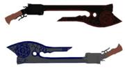【MMD-OMF8】手斧銃