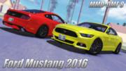 【MMD-OMF8】フォード・マスタングGT 2016年式【MMDモデル配布】