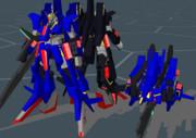 【MMD-OMF8】MSZ-008 ZⅡ