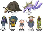 日本妖怪四十七士:関東