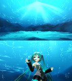 深海ステージ&泡パーティクルVer.1.1