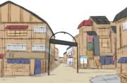 屋根補完材料屋御近所透過素材画質向上加筆修正