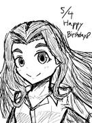 若葉さん誕生日おめでとうございます!