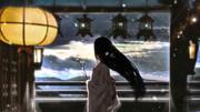 永遠のお姫様(東方の些細な日常~月面ストーク~アイキャッチイラスト)