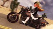 【MMD】住職のオートバイ