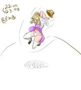 走り幅跳び諏訪子