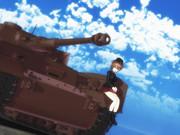 西住まほ and IV号戦車