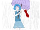 傘、入る?