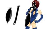 【MMD-OMF8】ガスマスクのアタッチメント
