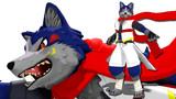 【MMD-OMF8】狼のリアルヒーロー シグナさん【モデル配布】