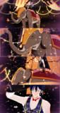 【MMD文アル】インド象と道化師ANG