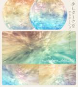 【MMD-OMF8】s_skydome019(少しダークなグラデーションスカイドーム)