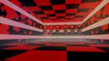 【OMF8】赤と黒ステージ【MMDステージ配布あり】