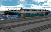 【MMD-OMF8】H&H対応型RORO船SOUND BOX【モデル配布】