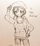 沙紀ちゃん誕生日おめでとう!