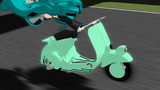 【MMD-OMF8】休日のスクーター
