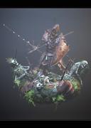 古戦場を彷徨う騎士