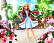 【今日のレア様】レア様のお庭♡