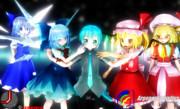 Kemika Mikuo And The Loli Fairy And Moonlight