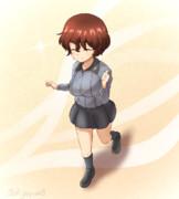 【ガルパン】るんるん小梅ちゃん