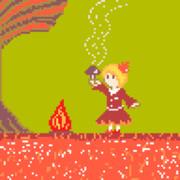 郷の紅葉を司るキノコ狩り世界チャンピオンの女