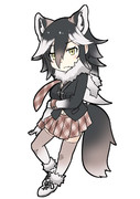 【オリフレ】ユーコンオオカミちゃん
