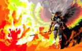 天狗の火焔
