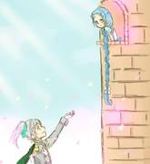 サミダレ姫とユウバリ王子