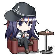 レディーwithコーヒー