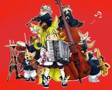 狐と狸の音楽隊♬