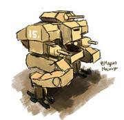 ウォーリアー歩行戦車