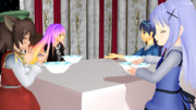 夕食:スープ:ポタージュスープ