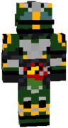 マイクラスキン 仮面ライダーアマゾンネオアルファ