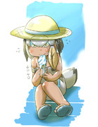 夏のハシビロコウちゃん